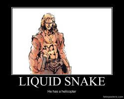 Demotivator #10 - Liquid Snake by NewNumber2