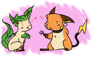 RD-Ross and Saria by Princess-Hanners