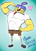 Spongebob Out Of Water by MamaGizzy