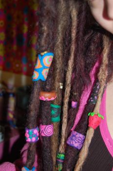 Dread Beads 4 - Lucie-Lubot by Dreadlocks-Club