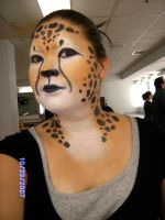 cheetah makeup 2 by blademckay