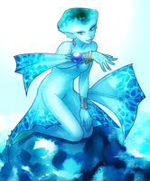 Fanart: Princess Ruto (Hyrule Warriors) by Komao