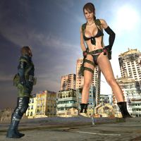 Giantess Quiet by gts69