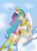 human celestia by knight-alui