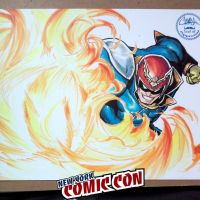 Nycc-16 - Falcon PUNCH by theCHAMBA