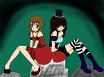 Wonderland sisters by Mad-Black-Cheshire
