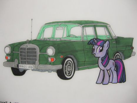 Twilight and Her Mercedes by Patridam