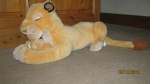 Lion king plush: Sarabi and Baby Simba by Nostalgic90s