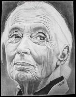 Jane Goodall by Clutch-MFD