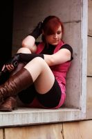 Claire Redfield Cosplay - Wandering Alone by ChaoticClaire