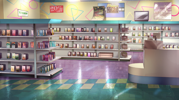 Video Store by FalyneVarger