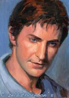 Richard Armitage painting No2 by zeldat