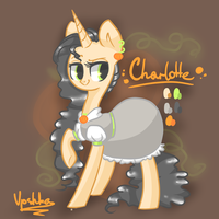 Charlotte reference sheet by Vpshka