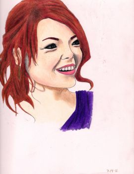 Emma Stone! by HalfHypnotic