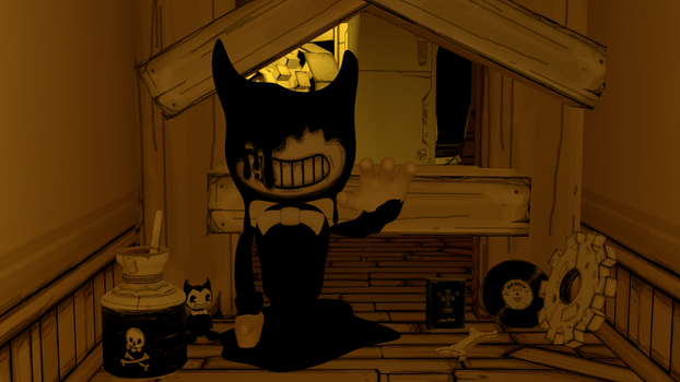 Come With Bendy by candy-x-cindy