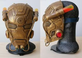 Steampunk Iron Man Mask by Fosterartwork