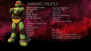 Raphael's Profile (Shallow) by Abn0rma1
