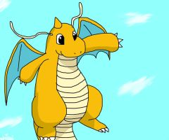 Dragonite by Squirrelfang2