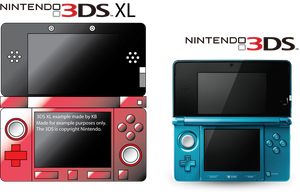 3DS XL example original by Anthro1