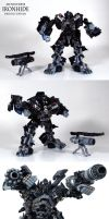 Deluxe Movie Ironhide Custom by Unicron9