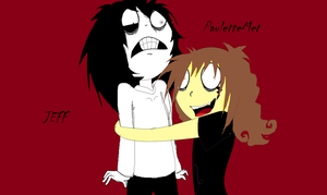 Jeff and me!! by pbo-artistica