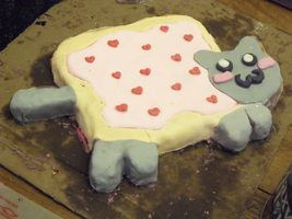 Nyan Cat Cake by CloudKiller7