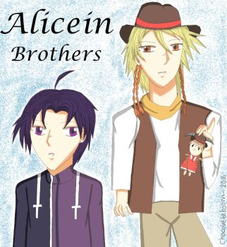 Alicein Brothers by alindicollection