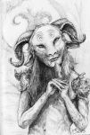 Pan's Labyrinth - Faun by SarembaArt