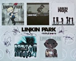 Linkin Park Album Covers by NickyToons