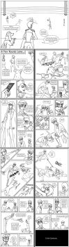 Round 1, Senshi Alpha and Beta pages 31-40 by Littlenene
