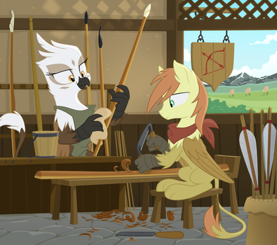 The Strung Stave by Equestria-Prevails
