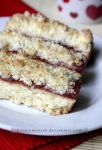 Jam Crumble Slices by claremanson