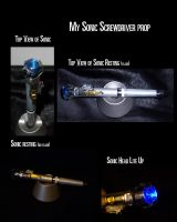My sonic screwdriver prop by Aerindarkwater
