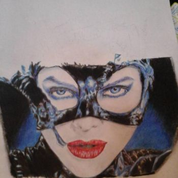 Catwoman unfinished 2 by laviudita
