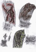 More Silent Hill monsters by Bealzabuth