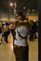 I MangaFest (Sevilla, Spain) - Lara Croft by ArantxaCosplayer