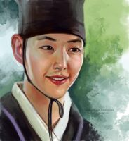 Song Joong Ki by ladunya