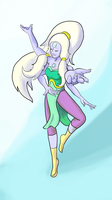 Goddess Opal by 3-Legged-Gerbil
