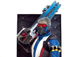 Soldier 76 Cosplay by aishicosplay