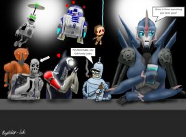 Arcee drives the boys crazy by Playstation-Jedi