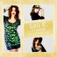 Pack png 156 - Lali Esposito by worldofpngs