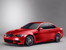 BMW 3 Coupe M Cosworth #red by TeofiloDesign