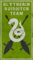 Quidditch Team Poster: Slytherin by TheLadyAvatar
