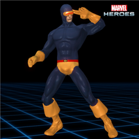 Marvel Heroes - Cyclops [Classic] by CaxUchiha