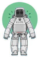 Asimo by captainalec