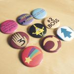 Gravity Falls Button Set by Monostache