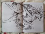 Dragon Doodle by Penfell