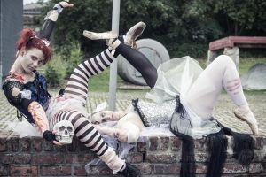 Ballet meets Zombies: Being together by SeelederSchar