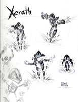 Xerath - LoL by Leadpanda