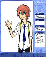 St. Abadeers App (Ren Tsukasa) by Ask-ErikandOthers